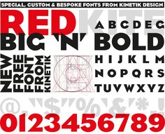 Font design by kinetik™
