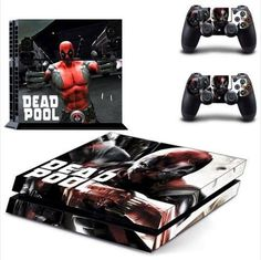 Deadpool PS4 Decal Skin Covers PlayStation 4 - *FREE SHIPPING*