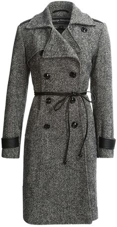George Simonton Military Walker Coat - Lambswool (For Women) on shopstyle.com