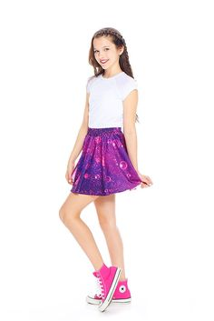 Girls Candy Crush Soda Saga Skater Skirt  a0f67d62e