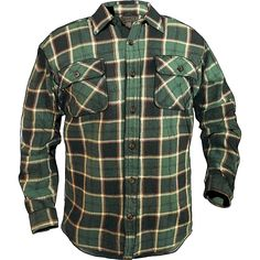 The Burlyweight Heavy Flannel Shirt from Duluth Trading Company is about  the heftiest one you re likely to find 6c9248130