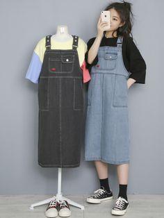 마리쉬♥패션 트렌드북! Moda Outfits, Edgy Outfits, Fashion Outfits, Korean Outfit Street Styles, Korean Outfits, Korean Fashion Trends, Korea Fashion, Aesthetic Fashion, Aesthetic Clothes
