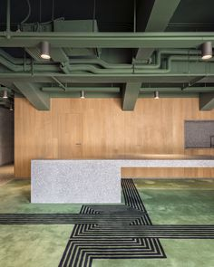 Gallery of B Campus / AIM Architecture - 22 Galerie de B Campus / AIM Architecture - 22 Grey Interior Doors, Office Interior Design, Cafe Interior, Design Commercial, Commercial Interiors, Dark Interiors, Office Interiors, Design Interiors, Design Blogs