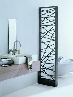 Room divider Steel decorative radiator MIKADO by SCIROCCO H #bathroom