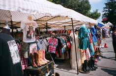 Best budget and vintage clothing shops include the Melrose Trading Post on Sunday's also known as Fairfax Flea Market.