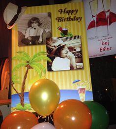 Küba temalı doğum günü partisi | 42 yaş doğum günü | 42th birthday | Cuba themed party
