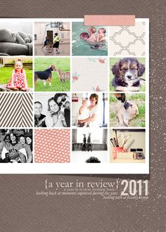 PL page using Oscraps Year in REview freebie