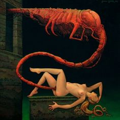 Sex, Satan and surrealism: The unsettling erotica of Michael Hutter | Dangerous Minds