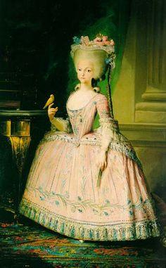 Royal Portraits-Queen Carlotta Joaquina of Portugal
