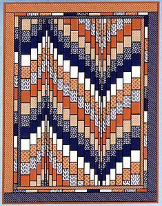 Bargello - Quilts in Motion (Book) by Ruth Ann Berry 8 projects with complete instructions, plus directions on how to create your own designs. Description from bargello-quilt-designs.clinic007.com. I searched for this on bing.com/images
