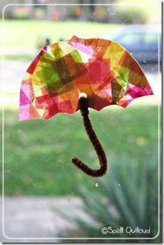 tissue paper umbrella