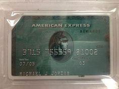 Get ready to bid on Michael Jordan's (expired) American Express card