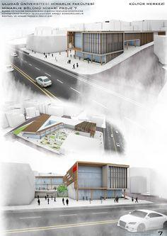 Uludağ Üniversitesi Mimarlık Fakültesi 7. Dönem Projesi