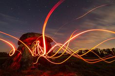 Comme une envie de lightpainting