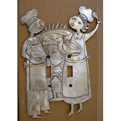 Sunrise Chefs switchplate cover