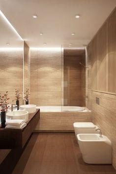 Проект: Ванная комната — Biarti.ru - минималистичный дизайн интерьеров — MyHome.ru