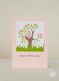 Love grows with this sweet card. #amusestudio #lovenote #valentine