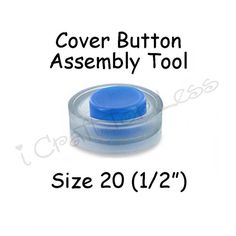 Cover Button Assembly Tool  Size 20 1/2 inch  by everythingribbons