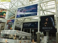 Square Enix schedule and banners at E3 (click)