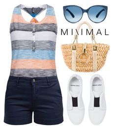 """""""M i n i m a l ~ 1714"""" by boxthoughts ❤ liked on Polyvore featuring Barbour, Michael Kors and Pierre Hardy"""
