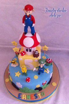 Mario bros cake