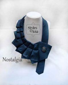 Necktie Necklace Unique Finds Statement Necklace by stylesbyana