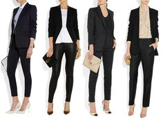 fashionable job interview outfits.. This article helps a lot when you can't seem to find what we want to wear.