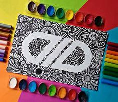 Dibujos Zentangle Art, Instagram, Make Envelopes, Happiness, Group, Mandalas
