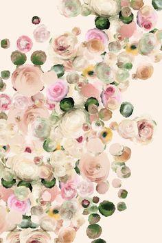 Fine Art Giclee Print l Flowers No3. (ParimaCreativeStudio via Etsy)