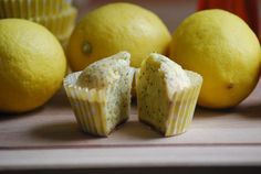 Lemon seed muffin