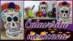 DIY | Calaverita mexicana | Decora tu espacio | 🎃 👻 🎃 👻 Aquí les dejo el link para que vayan a ver el video: https://youtu.be/g-Yj-xgiFQ8