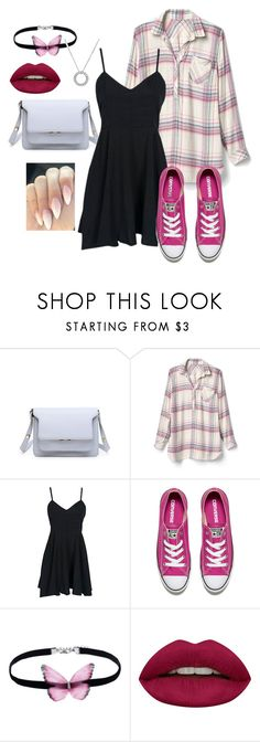 """""""Butterfly"""" by loveisablindwar on Polyvore featuring Gap, Converse and Huda Beauty"""