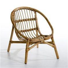 fauteuil rotin enfant