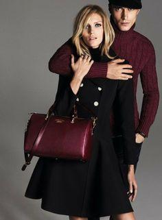 Anja Rubik w kampanii Gucci