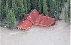 Aerial Photos: Calgary's inundated neighbourhoods BRAGG CREEK TRADING POST...
