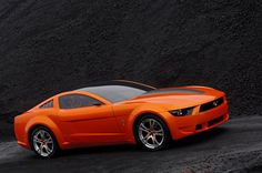 Giugiaro Ford Mustang side