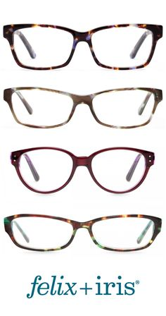 4 Unique Glasses with a Narrow Bridge | felix + iris glasses