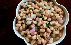Looking for the best Cannellini Bean recipes? Get recipes like How To Make Fast, No-Soak Beans in the Instant Pot, Three Bean Salad and Easy Tuscan Bean Soup from Simply Recipes. Caesar Salat, Caprese Salat, Bean Salad Recipes, Bean Salads, Cooking Recipes, Healthy Recipes, Healthy Meals, Yummy Recipes, Simply Recipes