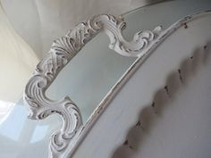 Vintage Silver Serving Tray/Platter refashioned Shabby Chic Style for Weddings or your  Paris Apartment on Etsy, $59.95