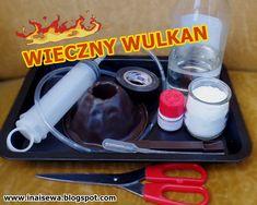 Ina i Sewa: Wieczny wulkan. Diy Crafts For Kids, Science, Education, Experiments Kids, Onderwijs, Learning