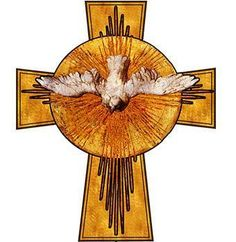 uCatholic - Holy Spirit Cross, $12.00 (http://store.ucatholic.com/holy-spirit-cross/) Come Holy Spirit Come !