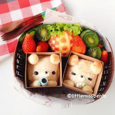 Teddy Bread in a Box