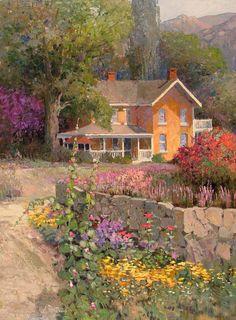 KENT R. WALLIS - Artist, Galleries in Carmel California- Jones/Terwilliger