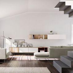 Aura collection media furniture Treku