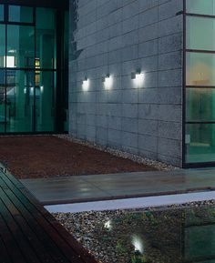 Exterior wall light for public spaces WHISKY SODA  NIMBUS