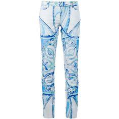 EMILIO PUCCI pattern trouser by None, via Polyvore
