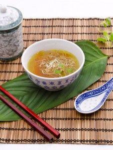 Chinesische Gemüsesuppe