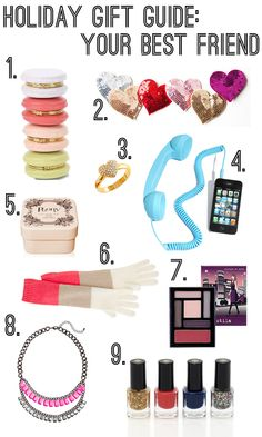 Holiday Gift Guide for the girls: featuring Urban Outfitters, Ban.Do, Nordstrom, J.Crew, Kate Spade, Stila & HM items!