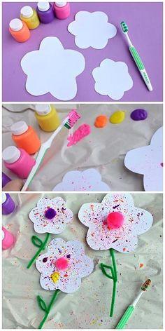 crafts spring for kids & crafts spring , crafts spring kids , crafts spring diy , crafts spring for kids Kids Crafts, Spring Crafts For Kids, Daycare Crafts, Craft Activities For Kids, Toddler Crafts, Easter Crafts, Diy For Kids, Arts And Crafts, Craft Ideas