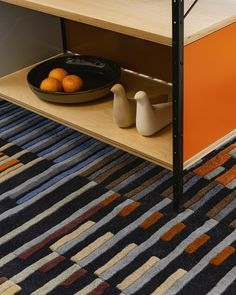 FRONT handtufted rug is inspired by Mid-Century Modern and opt-art. Yaacov Agam, Opt Art, American Artists, Bauhaus, Mid-century Modern, Mid Century, Texture, Inspired, Rugs